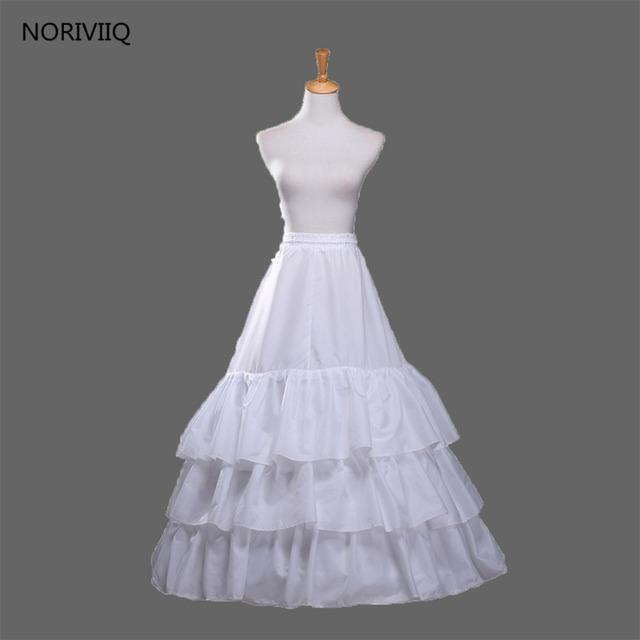 Noriviiq tutú retro mujeres accesorios blanco 3 capas enaguas de la enagua crinolinas columpio vintage falda 03
