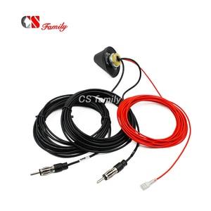 Image 5 - DC 12V DVB DAB FM AM antenna,12V Amplified Booster Car TV Digitale E AM/FM Radio Box Antenna