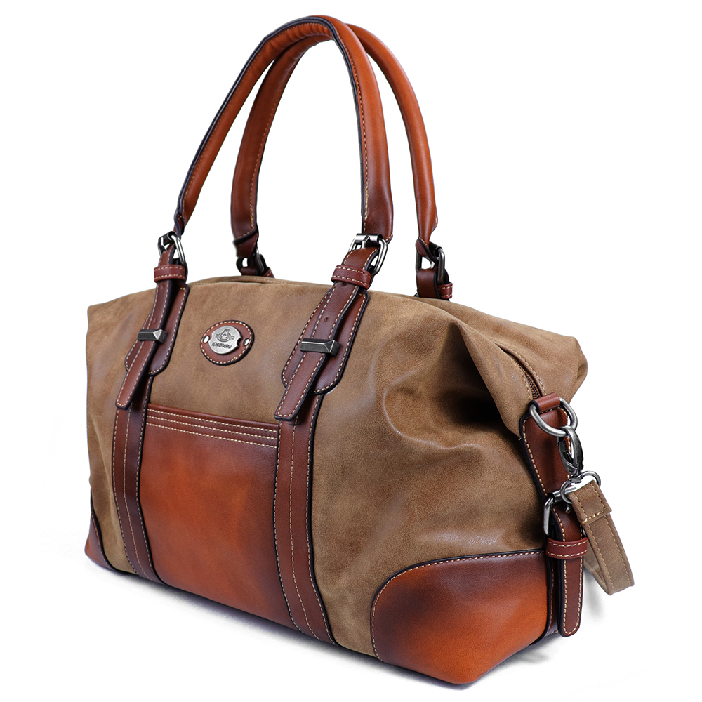 Genuine Leather Women Travel Bag 54