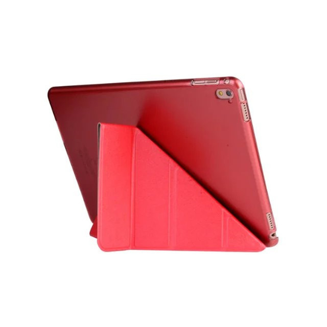 For iPad Pro 9.7 inch Transformer Smart Cover Plastic Clear back case