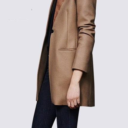 Blazers Nouveau Mode Printemps Bouton Kaki 2018 Blazer Dames Féminin Femmes Vestes Qualité Khaki Et Automne Haute Unique Lx65 qX4dUtw
