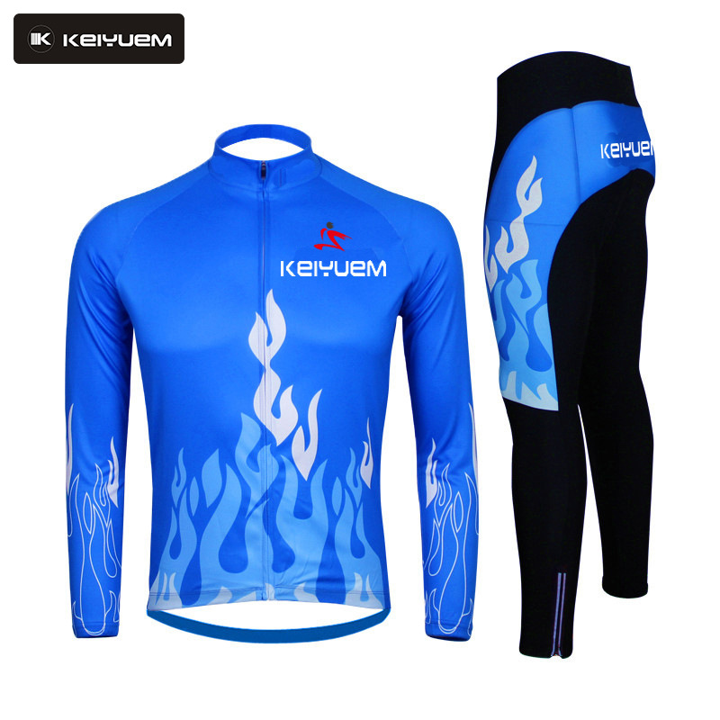 Brand Autumn Winter Fleeced long sleeve  Cycling Jersey/Ropa Ciclismo Bike Cycle Wear Maillot Bicycle Wear Cycling Clothing Set veobike winter thermal brand pro team cycling jersey set long sleeve bicycle bike cloth cycle pantalones ropa ciclismo invierno