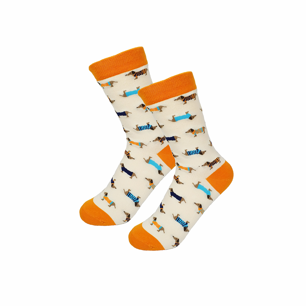 Protect Wrist For Cycling Moisture Control Elastic Sock Tube Socks Hot Coffee Athletic Soccer Socks