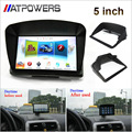 "Free shipping 4.3"" 5"" 4.3 inch 5 inch Car Gps navigator accessories sunshade sunshine shield navigation Sun shade"