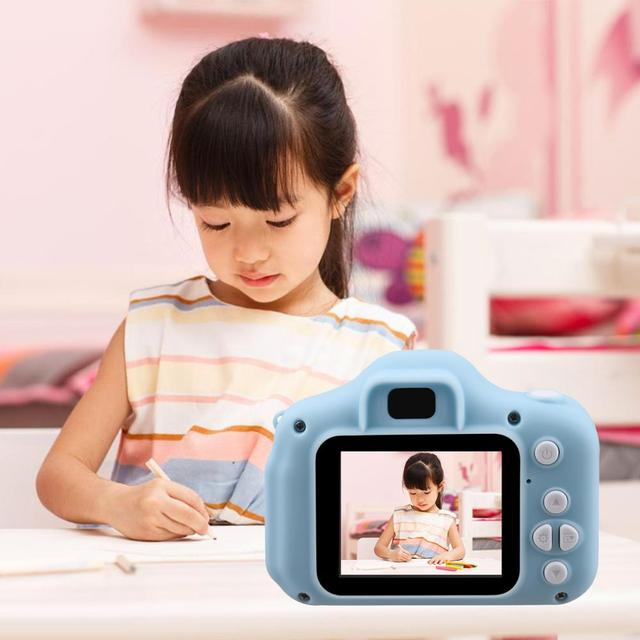 Children Mini Camera Kids Educational Toys for Children Baby Gifts Birthday Gift Digital Camera 1080P Projection Video Camera 3