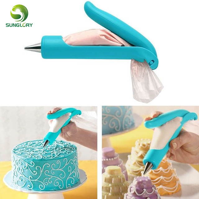 Deco Icing Pen With Pastry Bag And Coupler Tip 1