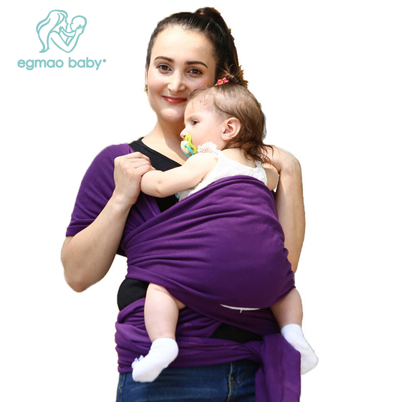 2018 Baby Carrier Sling For Newborns Soft Infant Wrap Breathable Wrap Hipseat Breastfeed Birth Comfortable Nursing