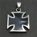 316L Stainless Steel Cool Silver Newest Design Cross Big Cross Pendant