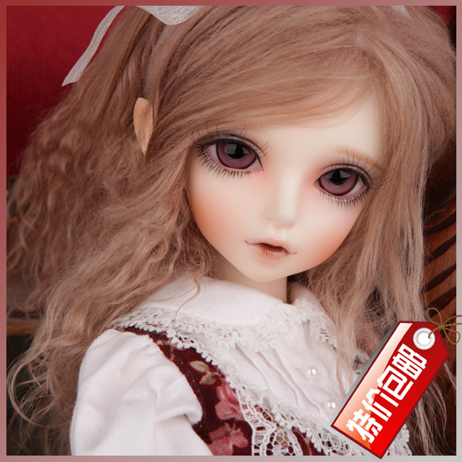 bjd doll sd doll 4 points female baby 1/4 KIWI joint doll (free eyes + free make up)