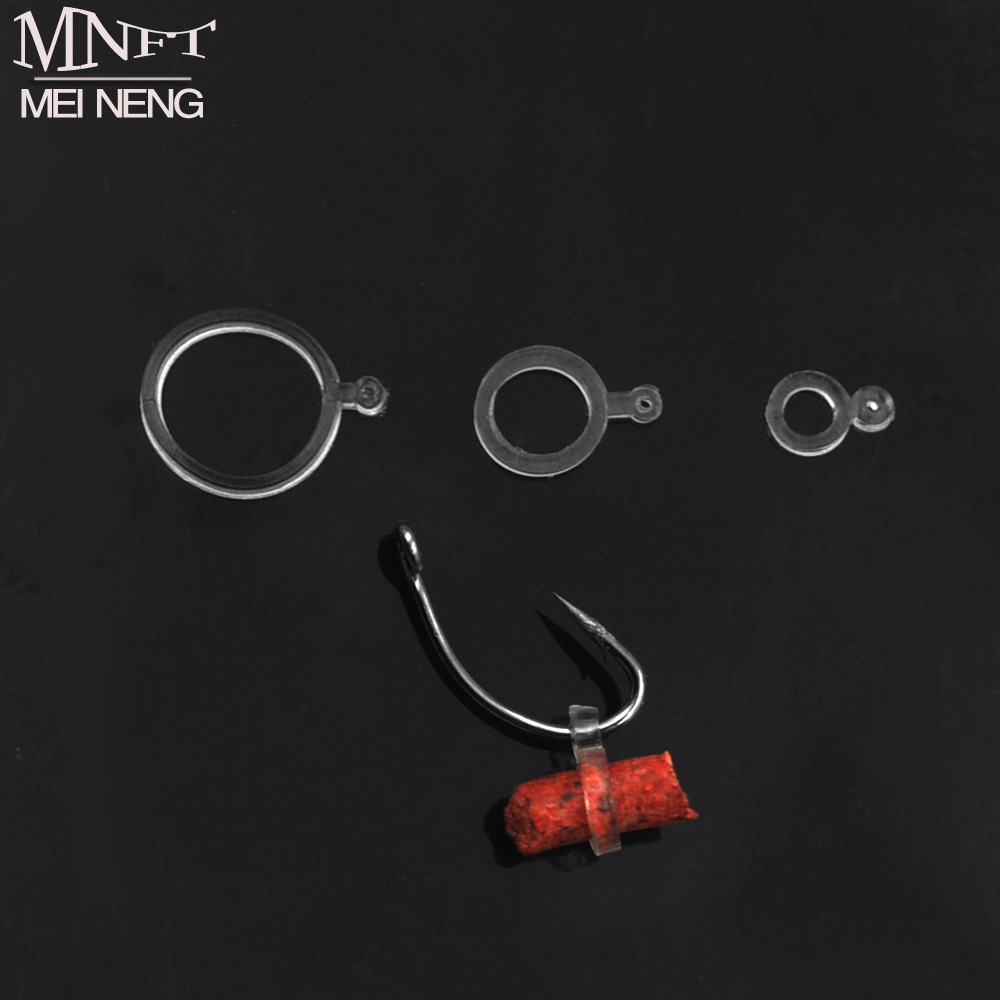 MNFT 72Pcs Baits Elastic Bands Boilie Pellet Rubber Rings For Bait Carp Fishing Transparent Baitbands Stretcher Size 3mm 5mm 8mm 1 pack clean dry maggots for fishing high protein nutritious fish bait food winter carp fishing baits