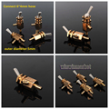 4Pcs Dental Pulldown Switch Valve Toggle for Dental Chair Unit Water Bottle