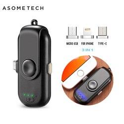 Banco de potência magnético para iphone/micro usb/tipo c mini ímã carregador banco de potência 18650 para iphone/ipad/xiaomi/lg/huawei/samsung
