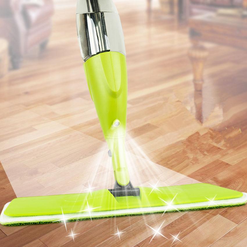 Magic Spray Mop Microfiber Cloth Floor Windows Clean Mop: 1PC Magic Spray Mop High Quality Microfiber Cloth Wood