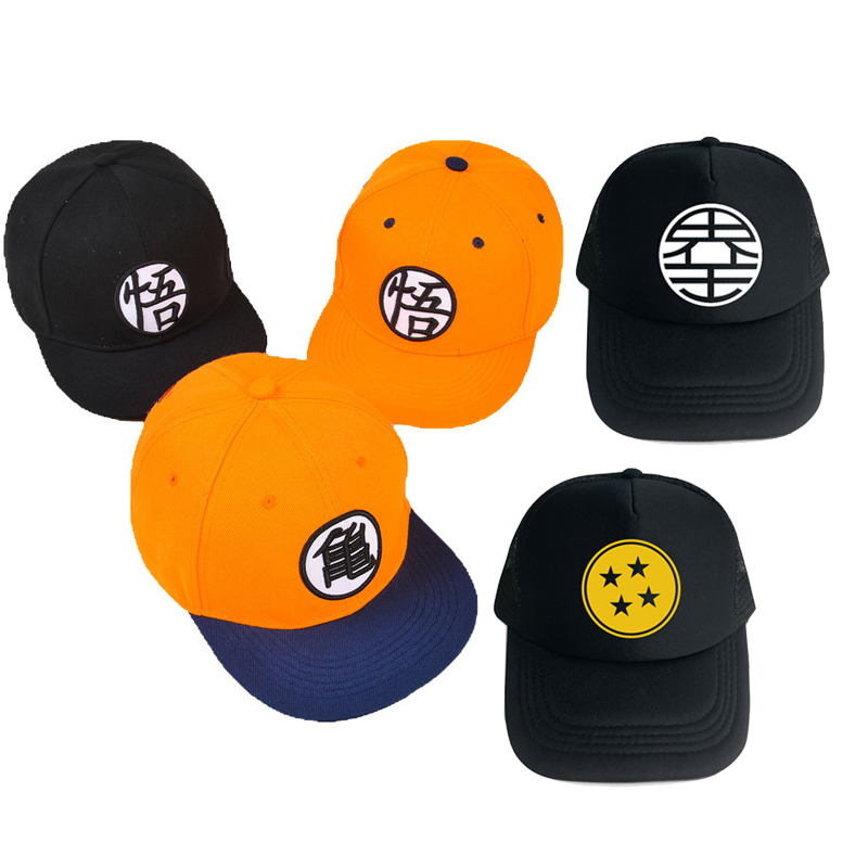 Cosplay New Dragon Ball High Quality Dragon Ball Z Goku Hat Flat Hip Hop Caps Toy For Kids Birthday Gift For Boys New Year Gift Cosplay New Dragon Ball High Quality Dragon Ball Z Goku Hat Flat Hip Hop Caps Toy For Kids Birthday Gift For Boys New Year Gift