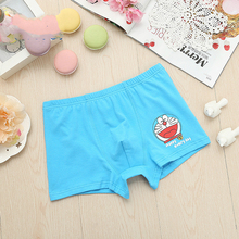 1 pcs/lot Jingle cat Childrens cotton underwear female cartoon printed baby girls boxer briefs panties 2-10T