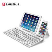 SANLEPUS Ultra-Slim Bluetooth Keyboard Wireless Computer Keyboard Mini For  Phone Tablet Laptop iPad iPhone Samsung IOS Android