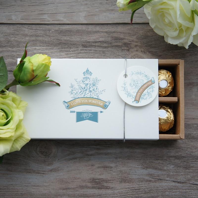 16 * 8,5 * 3,4 cm valentinovo 10-dnevno valentinovo škatla s čokoladnimi vrtnicami VELIČA VAM za vedno tema božični rojstnodnevni bonbončki embalaža za shranjevanje