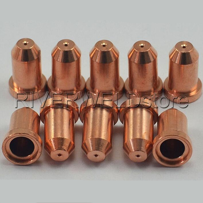 US $17 9 |10pcs Tips 50/60A 1 0 Cuttig Nozzles/Tips PCH/102 Plasma Cutter  Ref:8 7514-in Welding Nozzles from Tools on Aliexpress com | Alibaba Group
