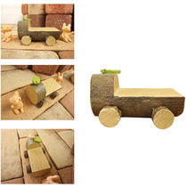 Stump Bus Forest Area For Plants Home Decoration Modern Children Girls And Boys Room Resin Crafts Students Couples Birthday Gift(China)