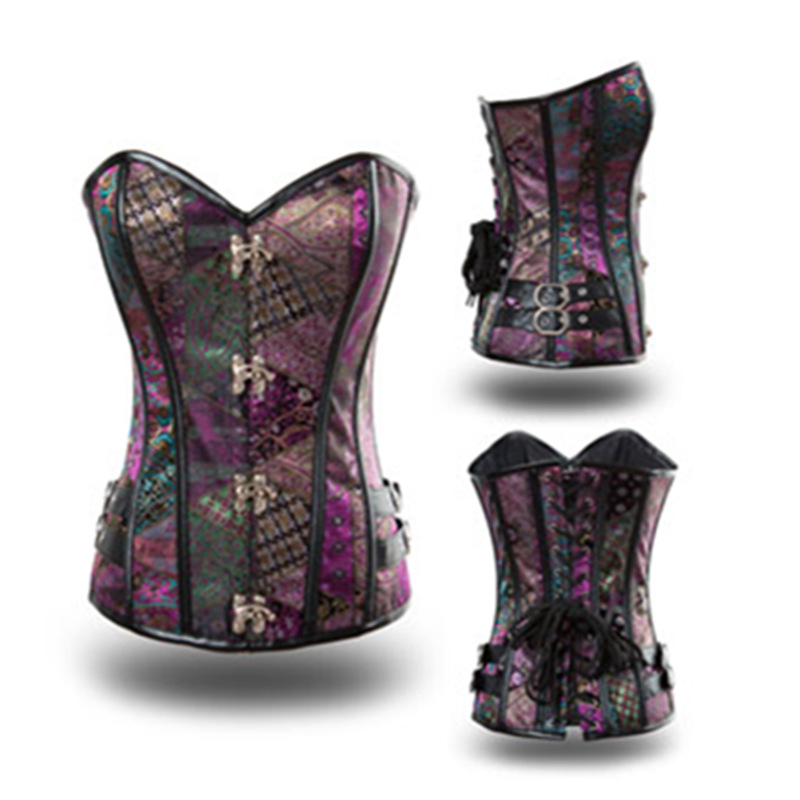Hot   corset   waist hot shapers   bustiers   waist   corset   underbust Sexy Lingerie steampunk   corset   gothic clothing