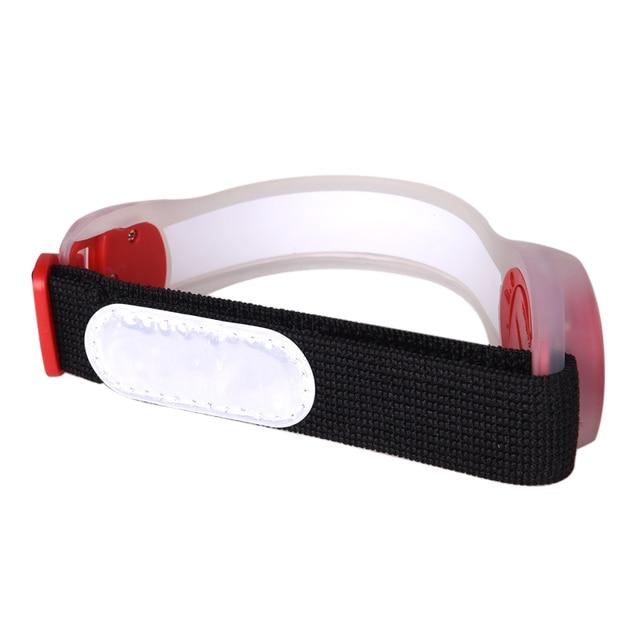 AONIJIE E4042 Night Running LED Lamp Armband Reflective Bracelet 5