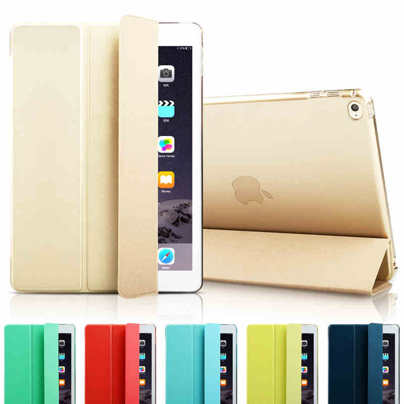 Fashion Ultra Slim Magnetic Front Smart Case Skin + Hard PC Back Cover For New apple iPad Pro 12.9 9.7