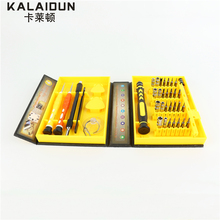 KALAIDUN  38 in 1 Precision Multipurpose Screwdriver Set Repair  Tool Kit Fix For Cell Phone iPhone for Notebook hand tools
