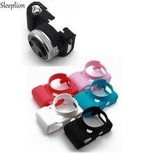 Sleeplion силиконовой резины Камера сумка защитный Средства ухода за кожей чехол для Sony a5100/A5000 a6000