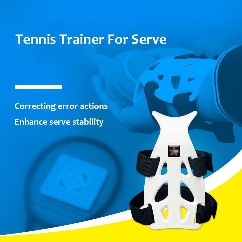 Tennis Trainer Serve Balls Training Tool Self-study Raquete De Tenis Ball Machine Practice Accessories Correct Wrist Posture