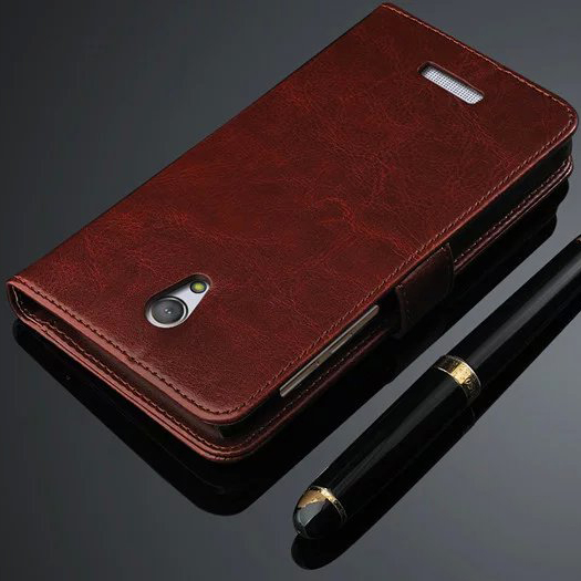 A15 For Highscreen Power Five Pro Case Vintage Luxury Wallet Flip Leather Case For Highscreen Power Five Pro Phone Cover