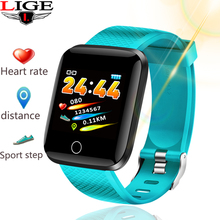 LIGE Sport Smart Bracelet Bluetooth Fitness Tracker  Waterproof Blood Pressure Heart Rate Monitor Smart watch for Android iOS bluetooth watch smart watches heart rate monitor bracelet blood pressure waterproof activity tracker smart watch for ios android