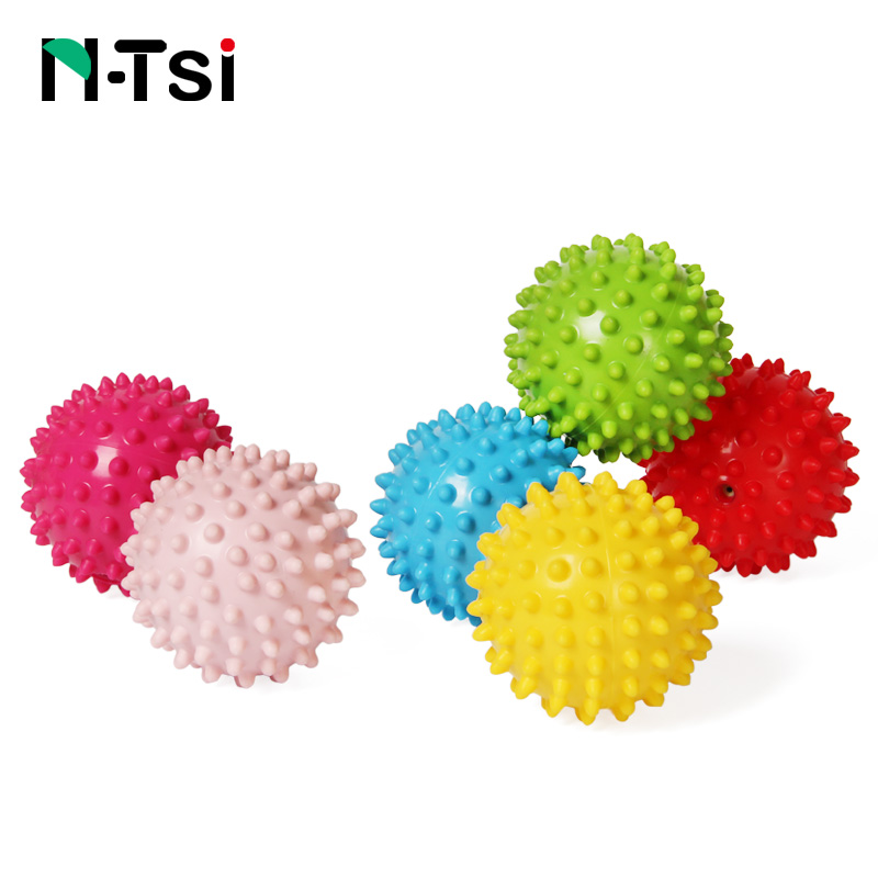 N-Tsi Baby Soft Squeeze Bouncing Fidget Development Sensory Educational Toy Inflatable Rubber Ball for Children Infant Game Gift gift n home