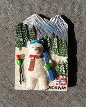 Norwegian polar bear tourist souvenir refrigerator