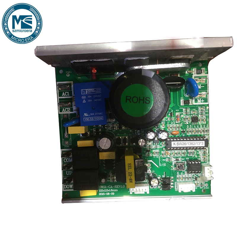 Treadmill lower control board SW01 CA REV1 0 circuit board power board