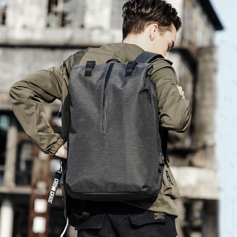 KAKA Mens Women Backpack Bag Laptop Waterproof Anti theft Travel Backpacks with USB Charging port Male