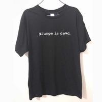 Novo verão grunge é morto kurt cobain nirvana 90s rock engraçado t camisa masculina algodão engraçado manga curta camiseta camiseta shirt price t-shirt linen shirt braces -