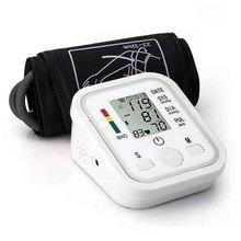Автоматический цифровой монитор кровяного давления верхней руки пульсометр тонометр Сфигмоманометры пульсометр