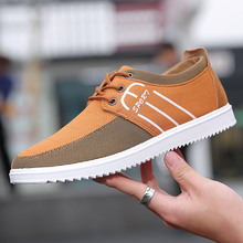2019 new summer mens shoes old Beijing trend wild breathable tide