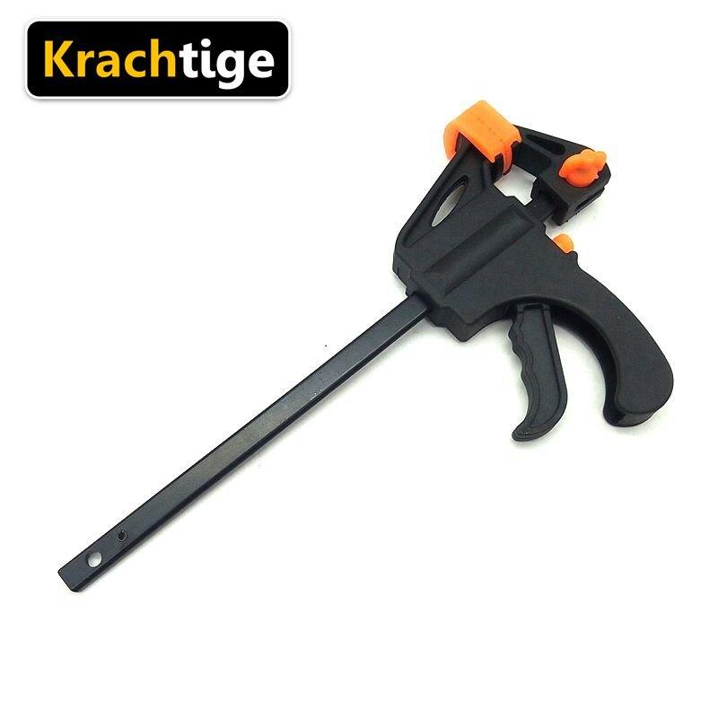 Krachtige 4 Inch Quick Ratchet Release Clip Wood Working Work Bar Clamp Kit Spreader Gadget Power Tool Accessories /Color Random
