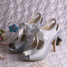 Wedopus женские Открытым Носком Мэри Джейн Обувь Лента Платье Platfrom Свадебные На Заказ Ручной Работы