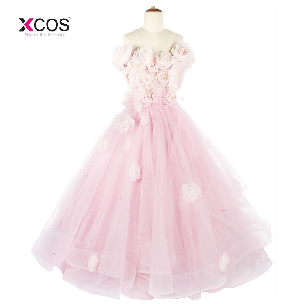 Gorgeous Pink Glitz Prom   Girls   Pageant   Dresses     Flower     Girl     Dresses   For Wedding Kids Evening   Dress   Custom Made