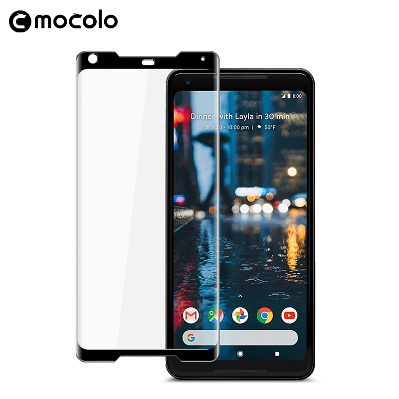 For Google Pixel 2 Screen Protector Original Mocolo Full Cover 9H 3D Tempered Glass Film For Google Pixel 2 XL Screen Protector