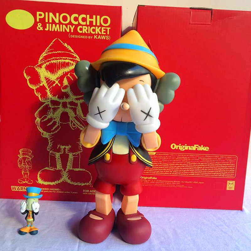 a9f6fc13 Pinocchio&Jiminy Kaws Dissected Companion 26CM Standing 23CM Sitting  Pinocchio Puppet PVC Action Figures Model Toy S159