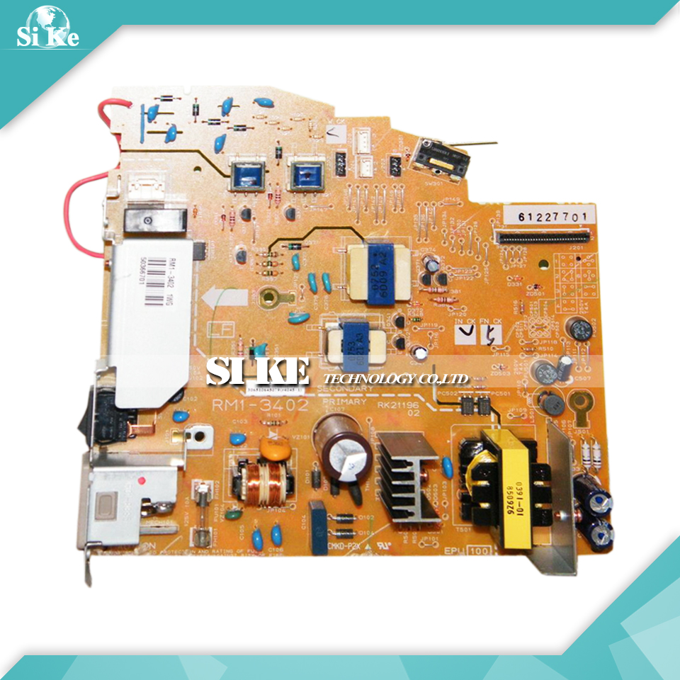 LaserJet  Engine Control Power Board For HP 3050 3052 3055 RM1-3402 RM1-3403 HP 3050 HP3052 HP3055 Voltage Power Supply Board repalce paper roller kit for hp laserjet laserjet p1005 6 7 8 m1212 3 4 6 p1102 m1132 6 rl1 1442 rl1 1442 000 rc2 1048 rm1 4006