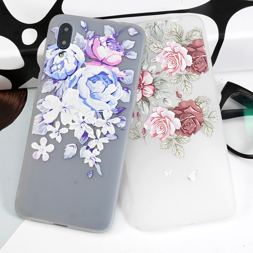 Rose Floral Phone <font><b>Case</b></font> For <font><b>VIVO</b></font> V15 Pro V3 Max V5 V5S V7 Plus V9 V11 V11i <font><b>Y53</b></font> Y55 Y71 Y73 Y83 Y91 Y93 Y95 Y97 <font><b>Cases</b></font> Soft Cover image