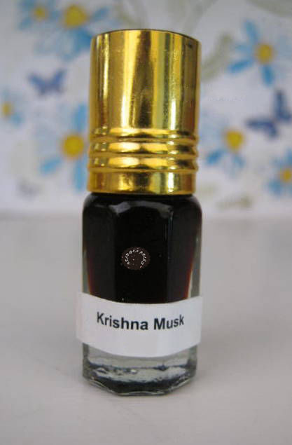 KRISHNA MUSK, Attar Concentrated Perfume Oil Strong Long Lasting 5 Ml Roll On Free Ship