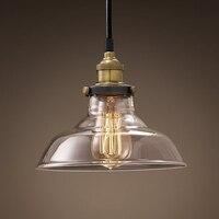 Fashion Personality Pendant Lamps American Style Retro Pendant Lights Personalized Vintage Copper Pendant Nostalgia GY111 LU1019