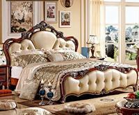 Европейский Стиль высокое качество 5 шт. Спальня комплект с Вырезка от Фошань Мебель