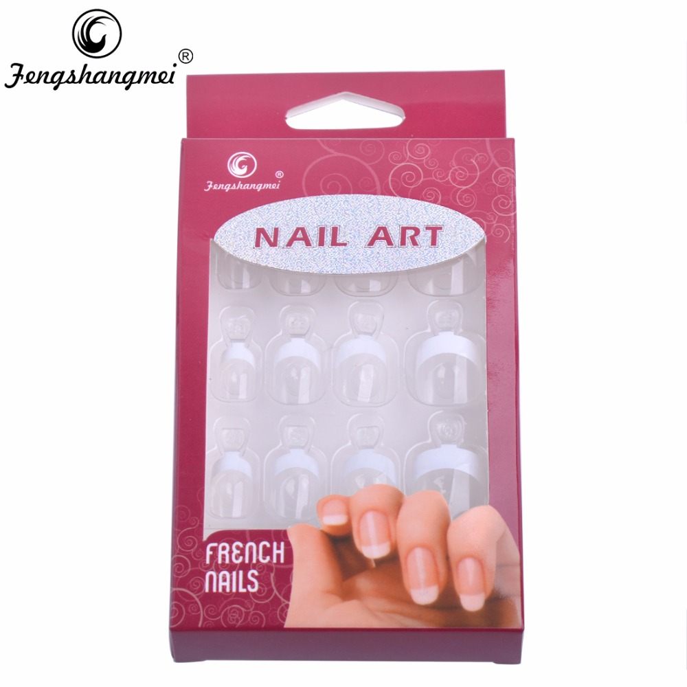 Aliexpress.com : Buy Fengshangmei Instant French Nail Tips Fake ...