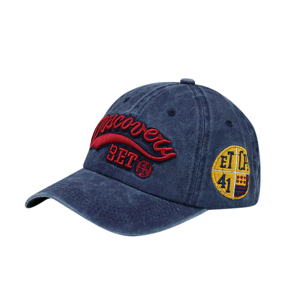 Wholesale Spring Casual Unisex Outdoor Cotton High Quality Embroidered Unisex  Hip Hop  Baseball Caps Adjustable  7.12  0.2(China)